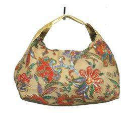 Fancy Printed Jute Bag