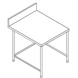 SS Side Table