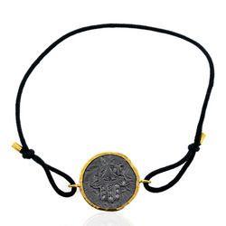 Hamsa Charm Macrame Bracelet