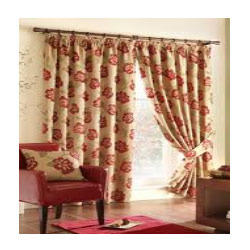 yarn dyed printed curtain