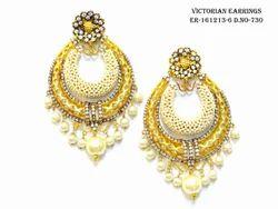 Pearl Victorian Earring