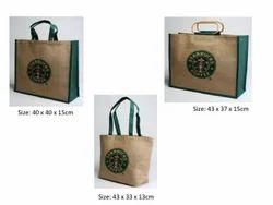 Star Backet Jute Bag