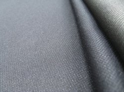 School Grey Tropical Suiting Fabric