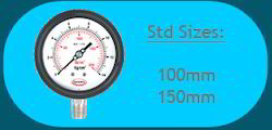 Weatherproof Pressure Gauge