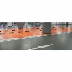 Epoxy Floor At Parking Area