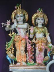 Radha and Krishna Statue