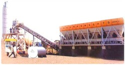 fully automatic concrete batching mixing plant