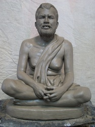 Sri Ramakrishna Paramahamsa Sculpture Model