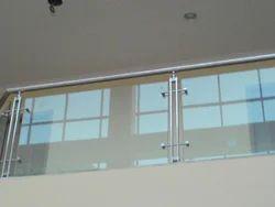 Fully Glass Balcony