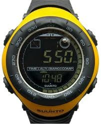Suunto Vector Yellow - Legendary Outdoor Sports Watch