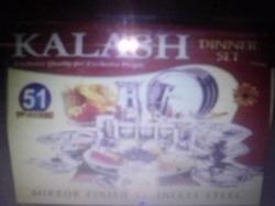 Kalash 51 Pcs Stainless Steel Dinner Set