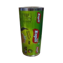printed laminated packaging roll