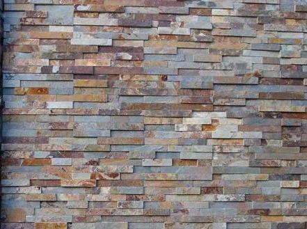 Black Slate Stone Wall Cladding Panels