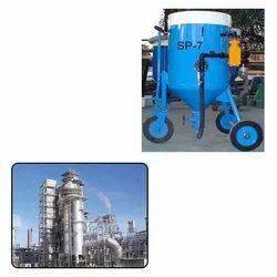 Portable Abrasive Blasting Machine for Oil Industry