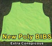 new glowing fibre bib