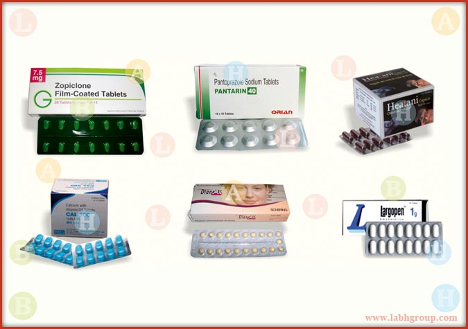 Printed Folding Carton Box for Pharma Blister Pack