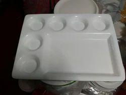 Acrylic Dosa Plate 7 Part