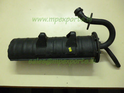 Silencer Assembly Tvs King Auto Rickshaw Parts