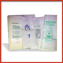Printed Paper with Plastic Coating Wrapper for Surgical Gloves