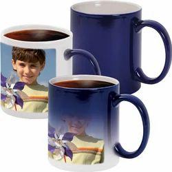 Sublimation Blue Magic Mugs Color Changing Mugs