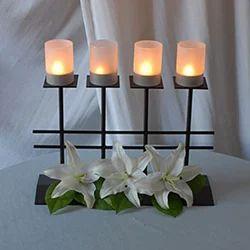Iron Decorative Candle Holder