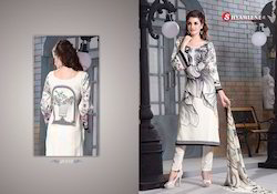 Chanderi Ladies Suits
