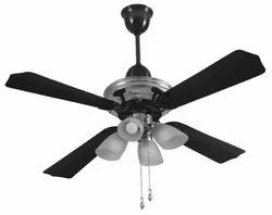 Airolite Black Chrome Ceiling Fans