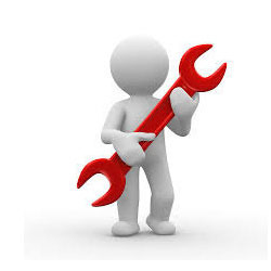 Worker With Service Tool Stock Photos - Image: 34402993