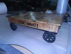 Industrial Loft Style Coffee Table