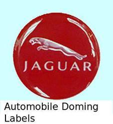 Automobile Doming Labels