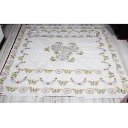 embroidery bed sheet