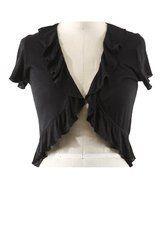 Black Knitted Shrug