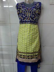 Beaded Diamond Handwork Salwar Suits