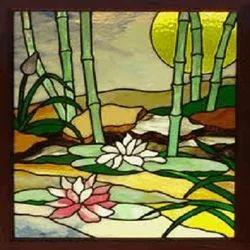 anjali photo frame glass painting