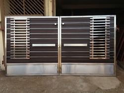 Modern Gate Designs Wood And Steel