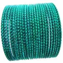 Designer Green Bangles Sets