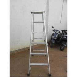 Aluminum Folding Platform Ladder