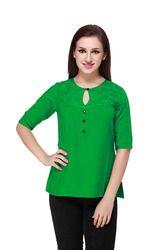 Cottinfab Green Top