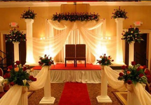 Wedding stage birthdays parties decorations service provider from pune wedding stage junglespirit Image collections