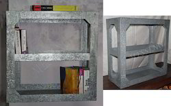 Galvanized Book Shelves with Aluminium Rivet
