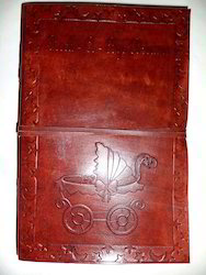 Custom Embossed Leather Journals, Custom Made