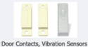 Door Contract And Vibration Sensors
