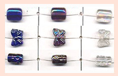 Glass Lustre Beads