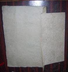 Deckle Edged Handmade Paper Envelope with Writing Paper