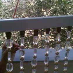 Acrylic Colored Crystal Bead Curtain
