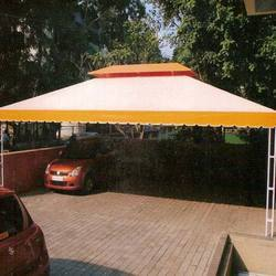 folding monsoon sheds awning