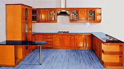 Hayatt Wooden Kitchen Cabinets