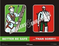 Posters on Safety Slogans
