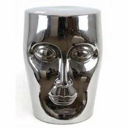 Aluminum Face Stool
