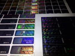 Holographic Label Sheets